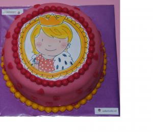 Blond taart