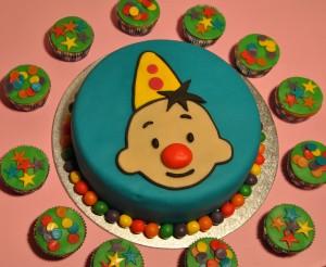 Bumba taart & cupcakes