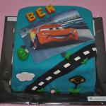 Cars-foto taart