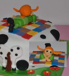 Pippi langkous taart